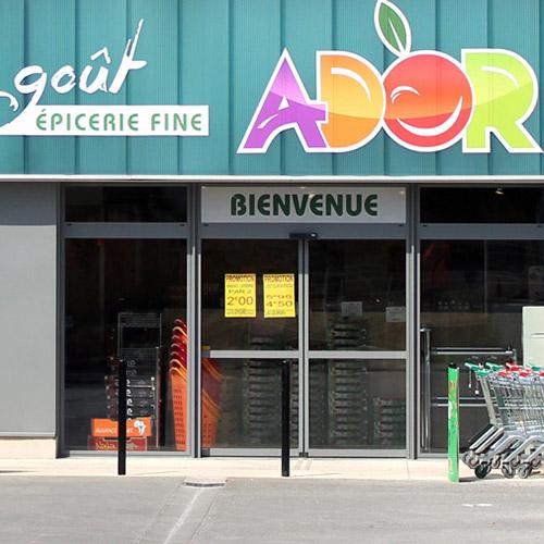 vignette supermarché ADOR - Tissot Electricité