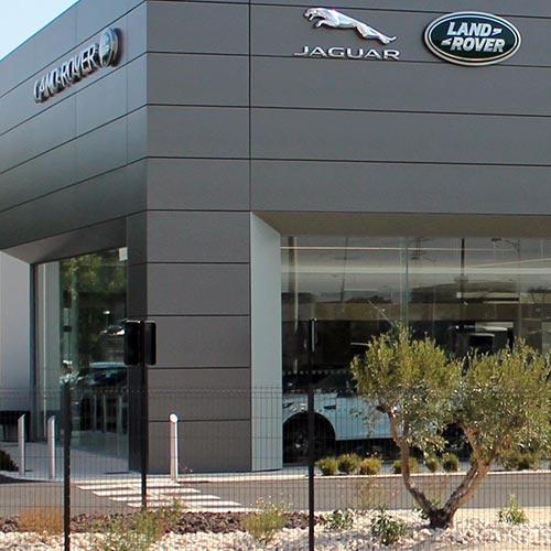 vignette Concessionnaire Jaguar - Land Rover - Tissot Electricité